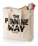 Pennine Way canvas shopping bag