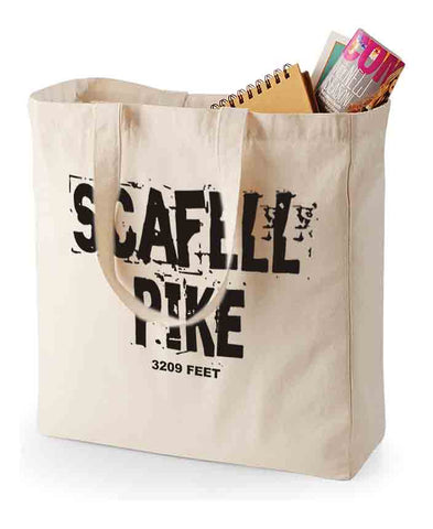 Scafell Pike canvas shopping bag
