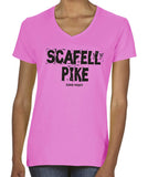 Scafell Pike women's v-neck t-shirt
