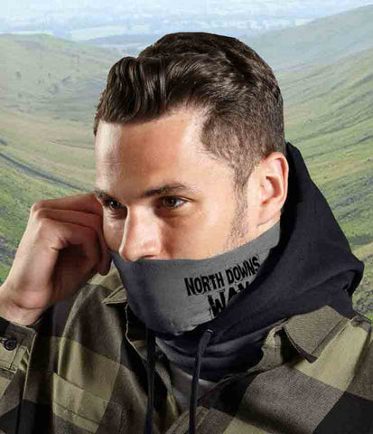 North Downs Way microfibre multi-use snood