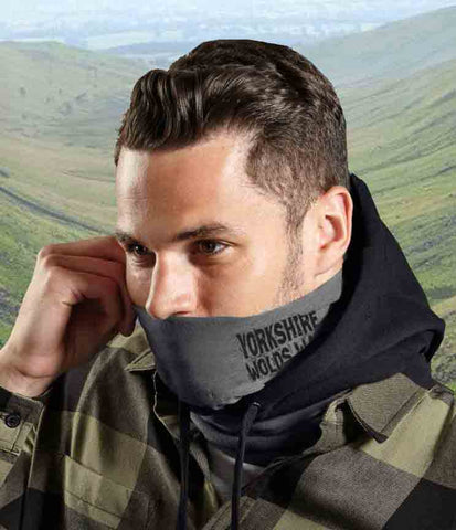 Yorkshire Wolds Way microfibre multi-use snood