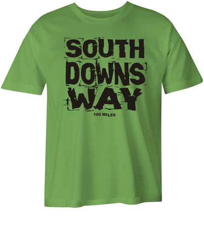 South Downs Way kid's t-shirt