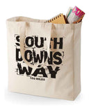 South Downs Way shopping bag