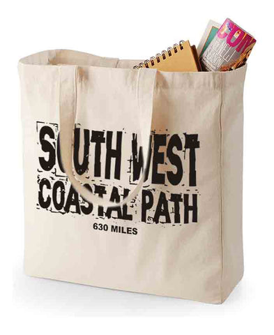 South West Coast Path shopping bag