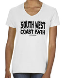 South West Coast Path women's v-neck t-shirt