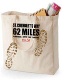 St Cuthbert's Way 'Sore Feet' canvas shopping bag