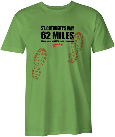 St Cuthbert's Way 'Sore Feet' t-shirt