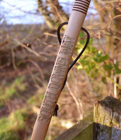 South Downs Way walking stick