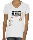 West Highland Way 'Sore Feet' women's v-neck t-shirt