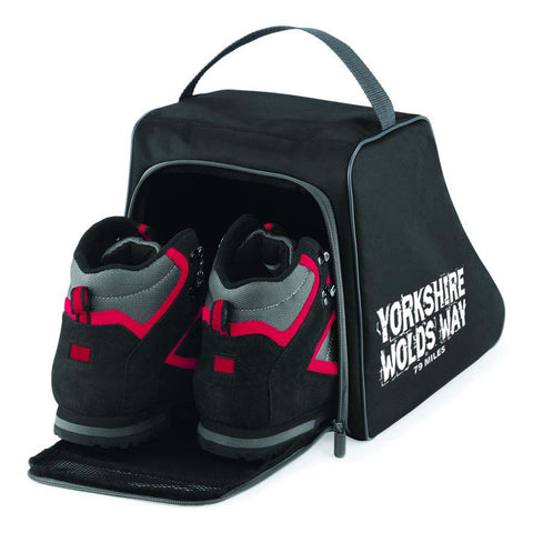 Yorkshire Wolds Way hiking boot bag