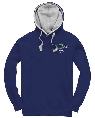 Yorkshire Wolds Way 'itrod' hoodie