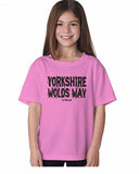 Yorkshire Wolds Way kid's t-shirt