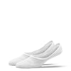 MEN'S SILVER INVISIBLE SOCKS | WHITE