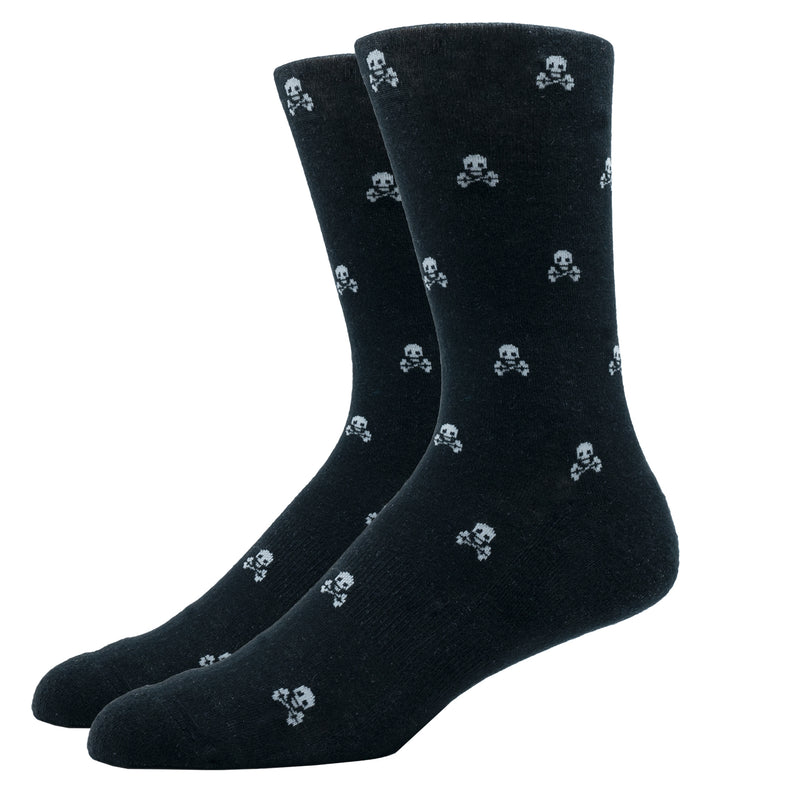SILVER CREW DRESS SOCKS | SCULLY