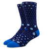 MEN'S SILVER CREW SOCKS | THE BLUES