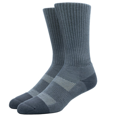 MEN'S SILVER WORK SOCKS | GREY