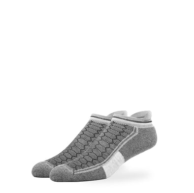 WOMEN'S SILVER ANKLE SOCKS | GREY