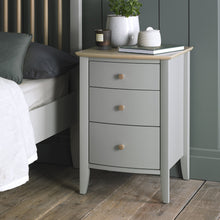 Southwold 3 Drawer Bedside