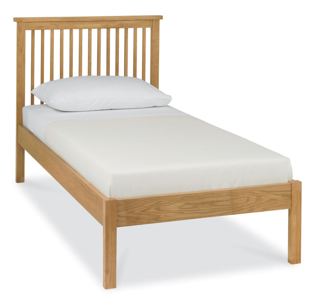 Memphis Oak Low Footend Bedstead - Single