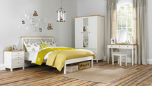 Memphis Two Tone High Footend Bedstead