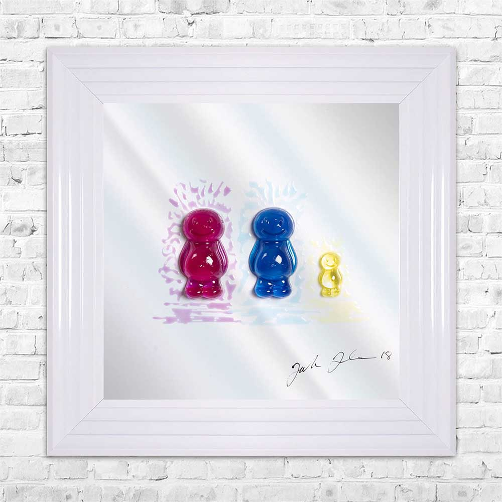 Jelly Family 3 Framed Artwork