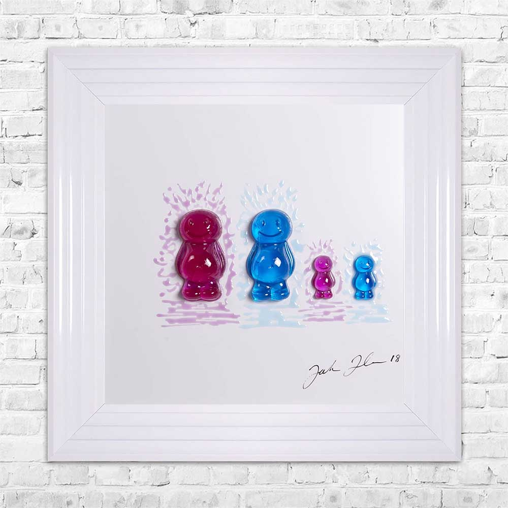 Jelly Family 4 Framed Artwork