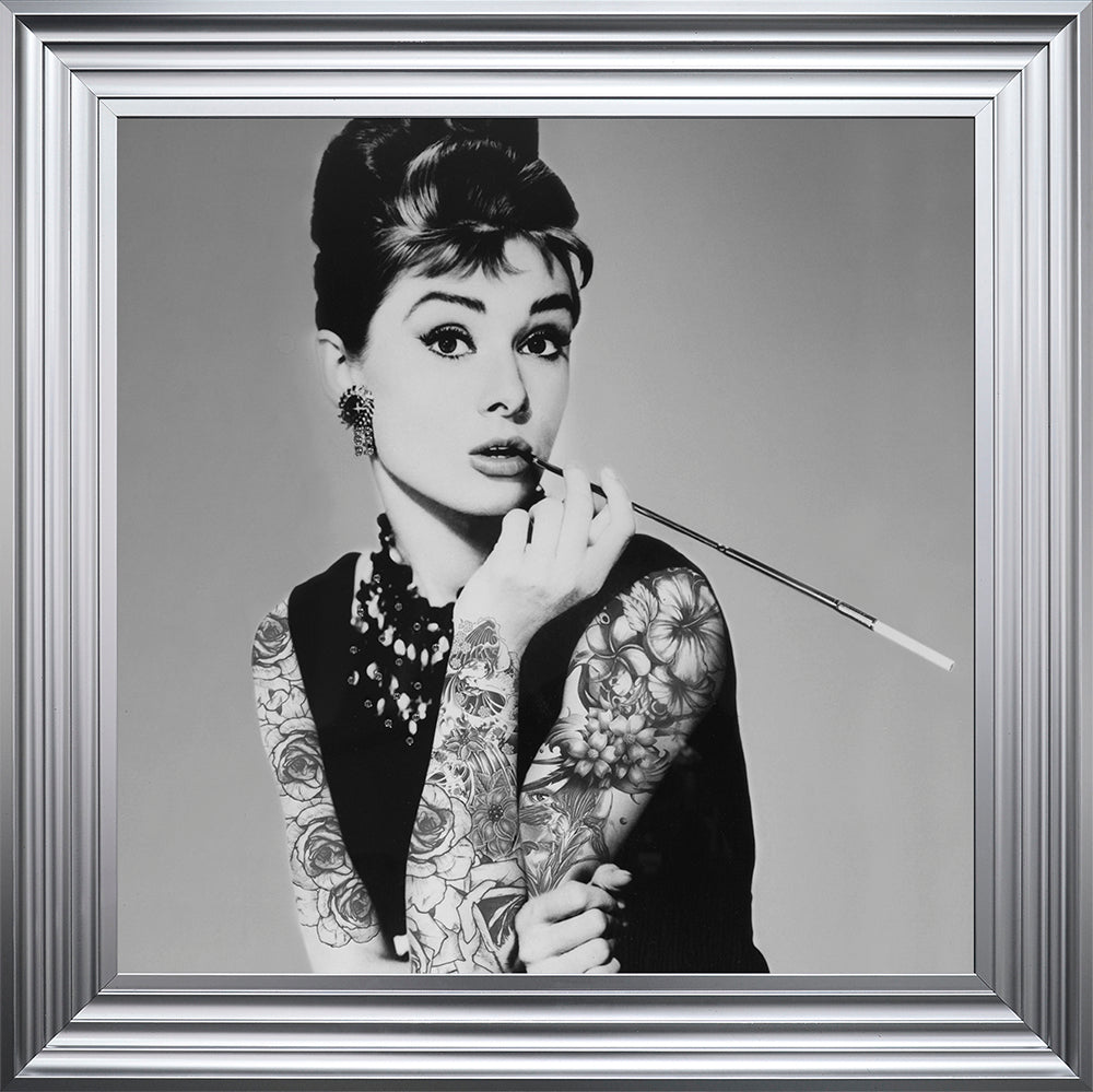 Audrey Hepburn Tattoo Picture – The Bed Post