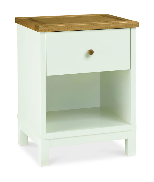 Memphis Two Tone 1 Drawer Nightstand