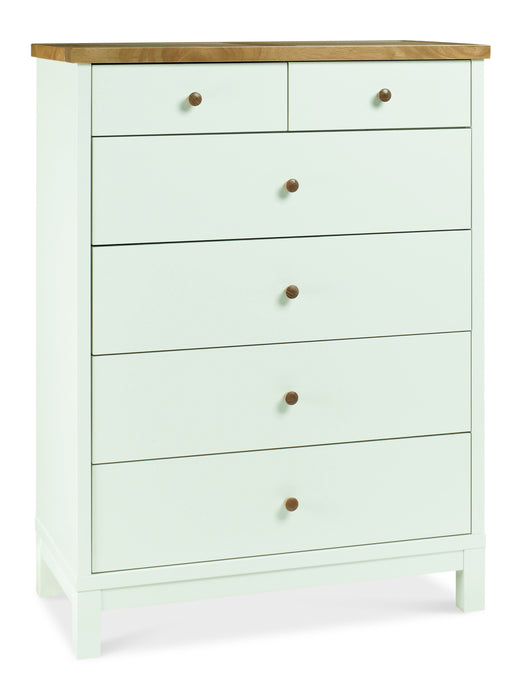 Memphis Two Tone 4+2 Drawer Chest