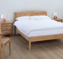 Cotswold Caners Edgeworth Slatted Bed 311P/H Low Foot End.