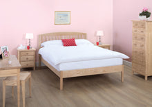 Cotswold Caners Edgeworth Slatted Bed 311V/H Low Foot End.