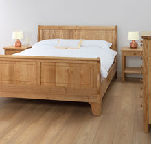 Cotswold Caners Withington Slatted Bed 340P/HF High Foot End.
