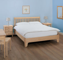 Cotswold Caners Withington Slatted Bed 340V/H Low Foot End.