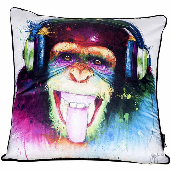 Patrice Murciano Monkey HD Cushion White