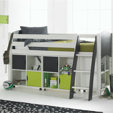 Scallywag Kids Contour Cabin Bed Including 3 Quad Storage Units