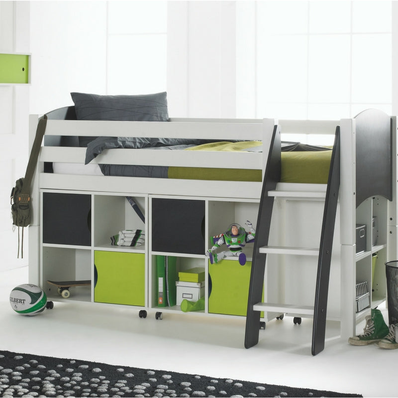 Scallywag Kids Contour Cabin Bed Including 3 Quad Storage