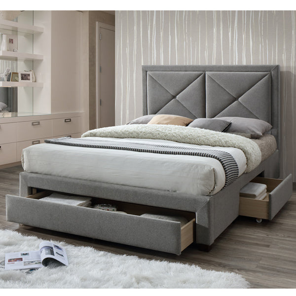 Sandown Bedstead in Grey Marl