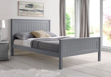 Compton High Footend Bedstead in Grey