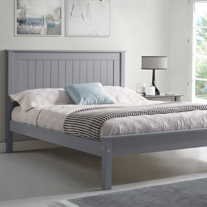 Compton Low Footend Bedstead in Grey