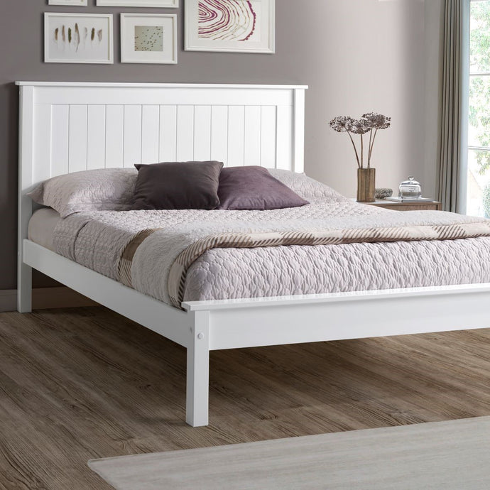 Compton Low Footend Bedstead in White