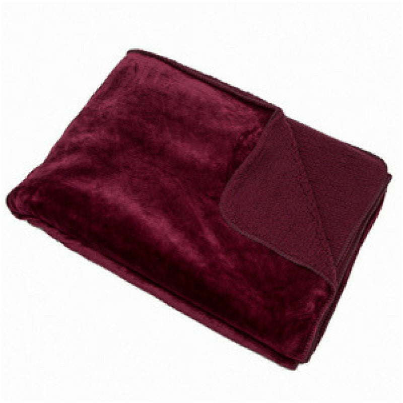 Cosy Throw Aubergine