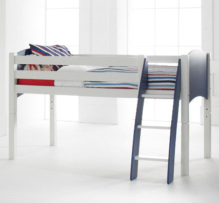 Scallywag Kids Cabin Bed - Curved Ladder