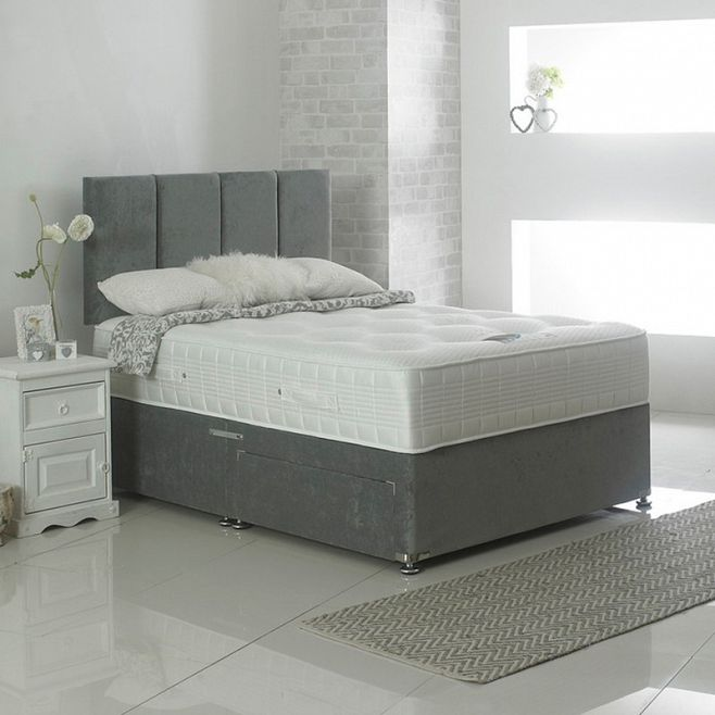 The Divan with 2 Drawers