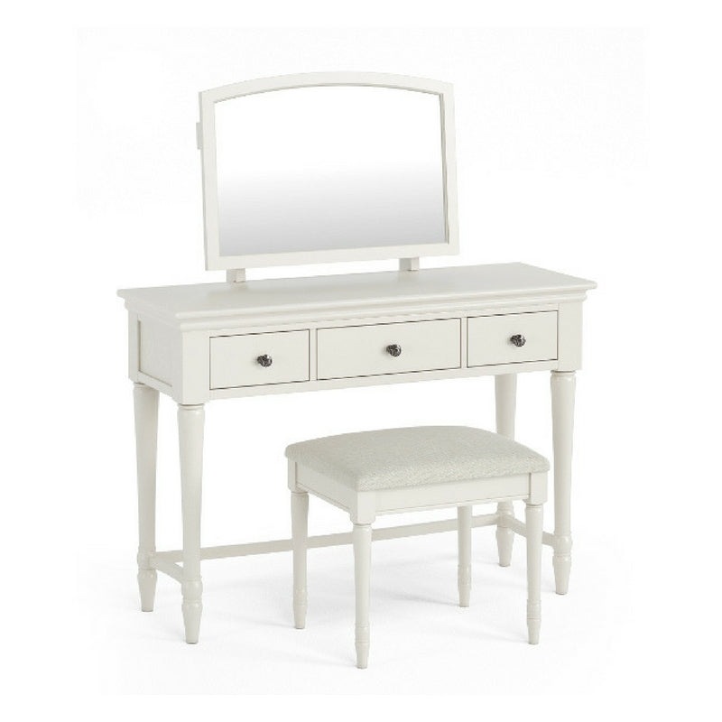 Geneva Dressing Table & Mirror set