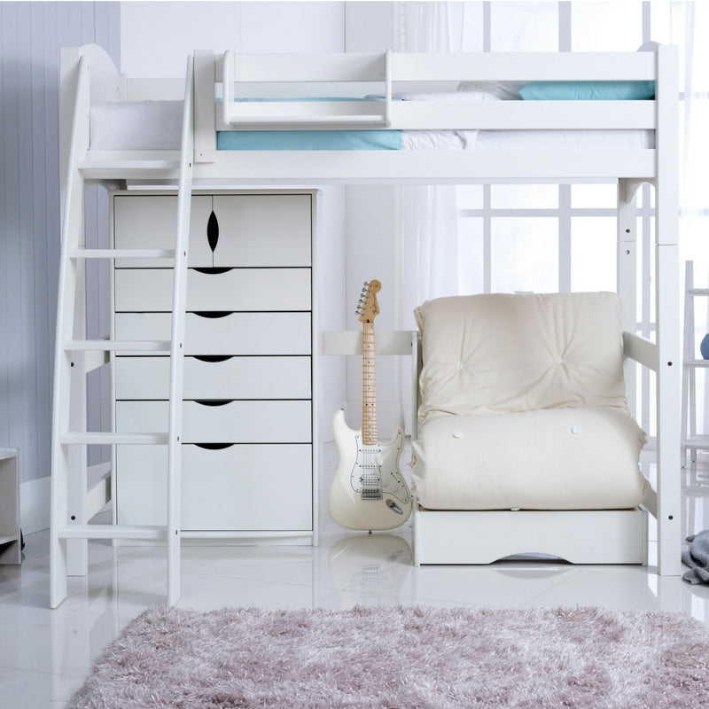 Scallywag Kids High Sleeper Bed The Bed Post