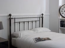Earlswood Bedstead in Black Chrome Finish