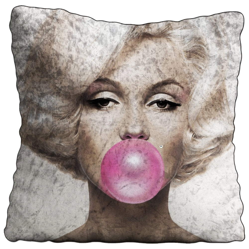 MARILYN GUM Crushed Velvet Cushion