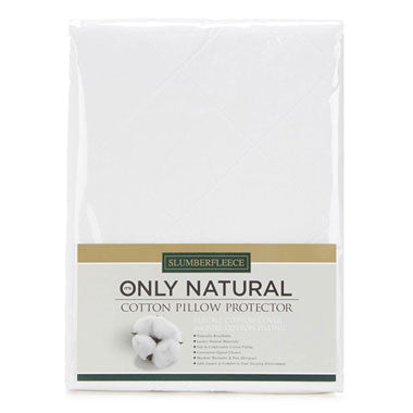 Only Natural Cotton Pillow Protector