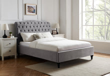 Whiteley Bedstead in Light Grey