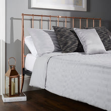 Serene Saturn Rose Gold Metal Bedstead